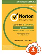 Norton Security Standard 2019 | 1 Gerät | 1 Jahr | PC/Mac/Android/iOS | Download