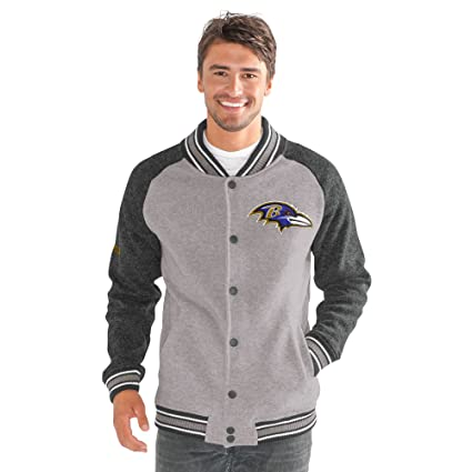 reputable site ec18b ae6c4 G-III Sports NFL Mens The Ace Sweater Varsity Jacket