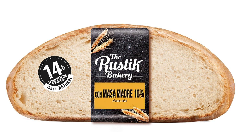 The Rustik Bakery - Pan Masa Madre - 450 g: Amazon.es ...
