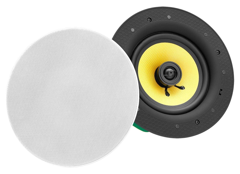 Pronomic CLS-880 WH haut-parleur à monter à 2 voies high end kevlar 320 Watt 00044858