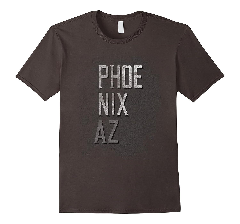 Phoenix Arizona AZ Distressed City Grunge Dark T-Shirt Tee