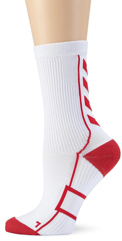 Hummel Kinder Socken Tech Indoor Sock Low White/True Red 8 21-074-9402 HUMBC|#Hummel