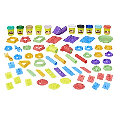 Play Doh Play Date Party Crate Arts & Crafts: Toys & Games [5Bkhe1207106]