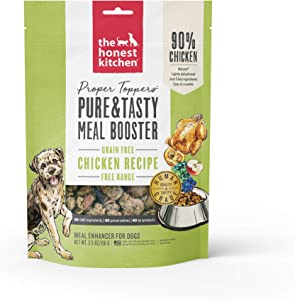 Honest Kitchen PTCHI5 Proper Toppers: Natural Human Grade Dehydrated Dog SuperfoodsGrain Free Chicken5.5 oz