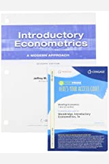 Bundle: Introductory Econometrics: A Modern Approach, Loose-leaf Version, 7th + MindTap, 1 term Printed Access Card Product Bundle