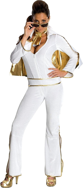 Disfraz de Elvis sexy para mujer: Amazon.es: Juguetes y juegos