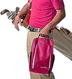 Athletico Golf Shoe Bag - Zippered Shoe Carrier