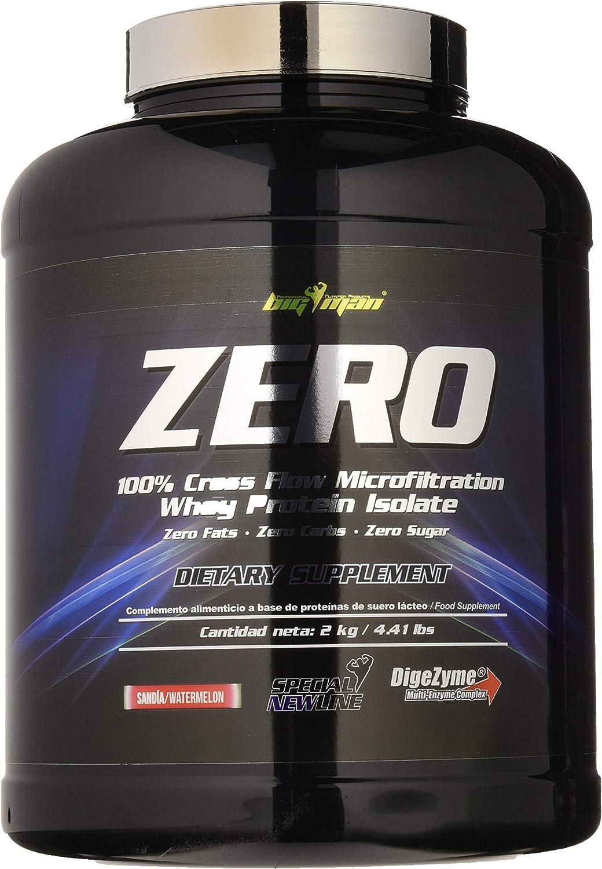 Big Man Nutrition Zero Whey Proteína Isolate, Sandia - 2000 ...