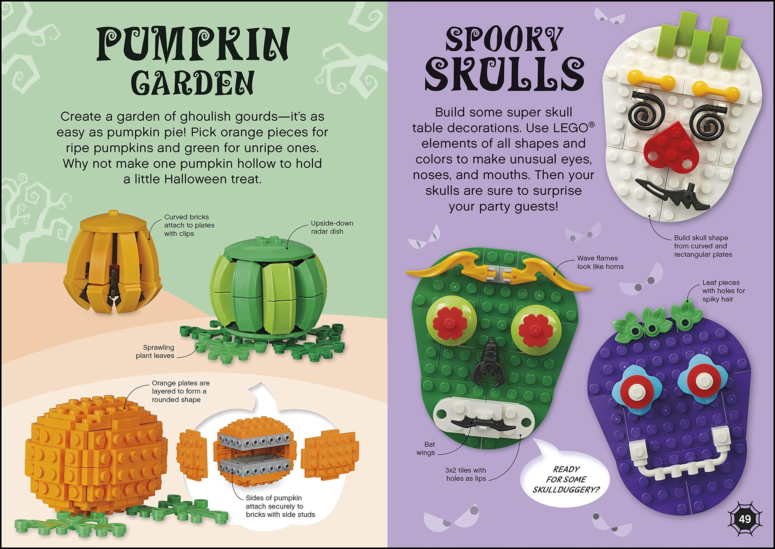 Lego Halloween Ideas: With Exclusive Spooky Scene Model With Toy: Amazon.es: Wood, Selina, March, Julia: Libros en idiomas extranjeros