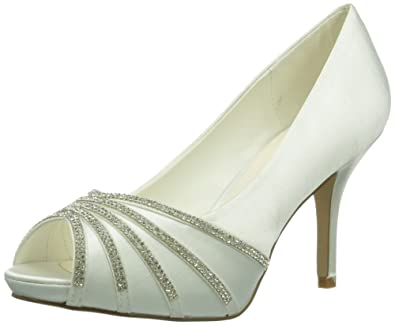 Paco Mena Julieta Damen Peep-Toe Pumps