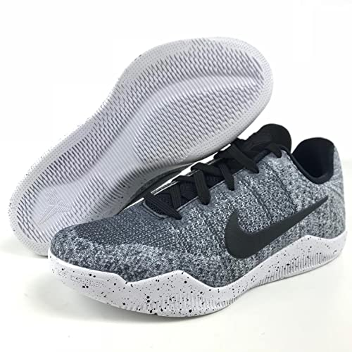 ce1a757b2873 Nike Kobe XI 11 (GS) 822945-100 White Black Big Kids  Basketball ...