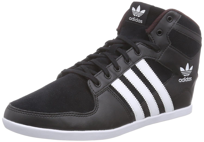 adidas Plimcana 2.0 Mid - Zapatillas de Running para Hombre, Color Negro/Blanco/Rojo, Talla 36 2/3: Amazon.es: Zapatos y complementos