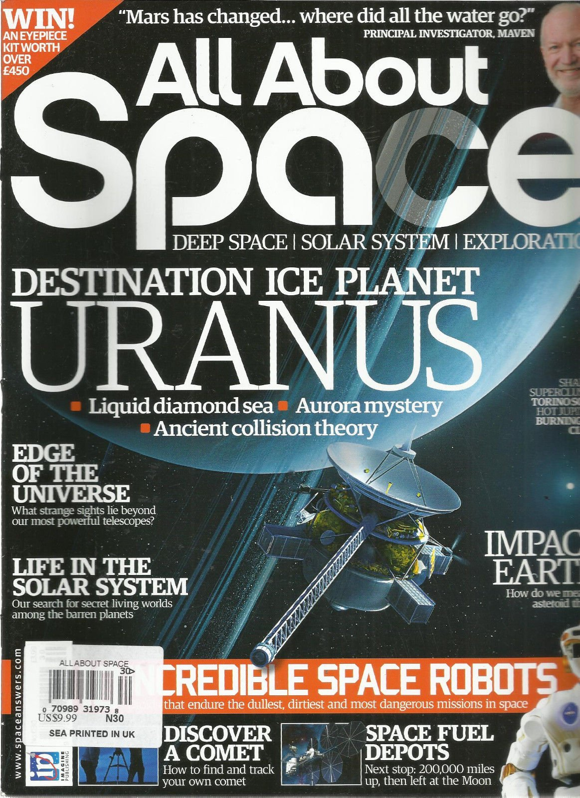 ALL ABOUT SPACE, NO.30 (DEEP SPACE SOLAR SYSTEM EXPLORATION * IMPACT EARTH)