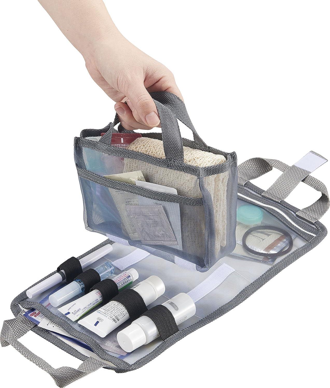 コジット お風呂バッグ+小物入れを1つにまとめる コンパクト2in1温泉ポーチ 90359