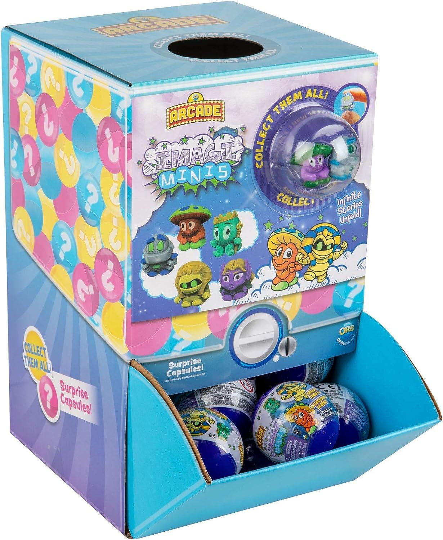 ORB Arcade Capsules Imagi Minis 48 Capsules Display