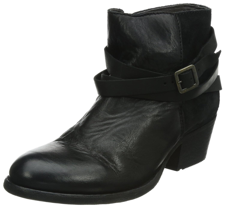 Hudson Horrigan - Botas de cuero para mujer41 EU Negro - Schwarz (Jet)