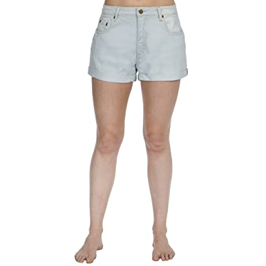 ab4447f75 Causeway Bay Ladies Stretch Denim Shorts: Amazon.co.uk: Clothing