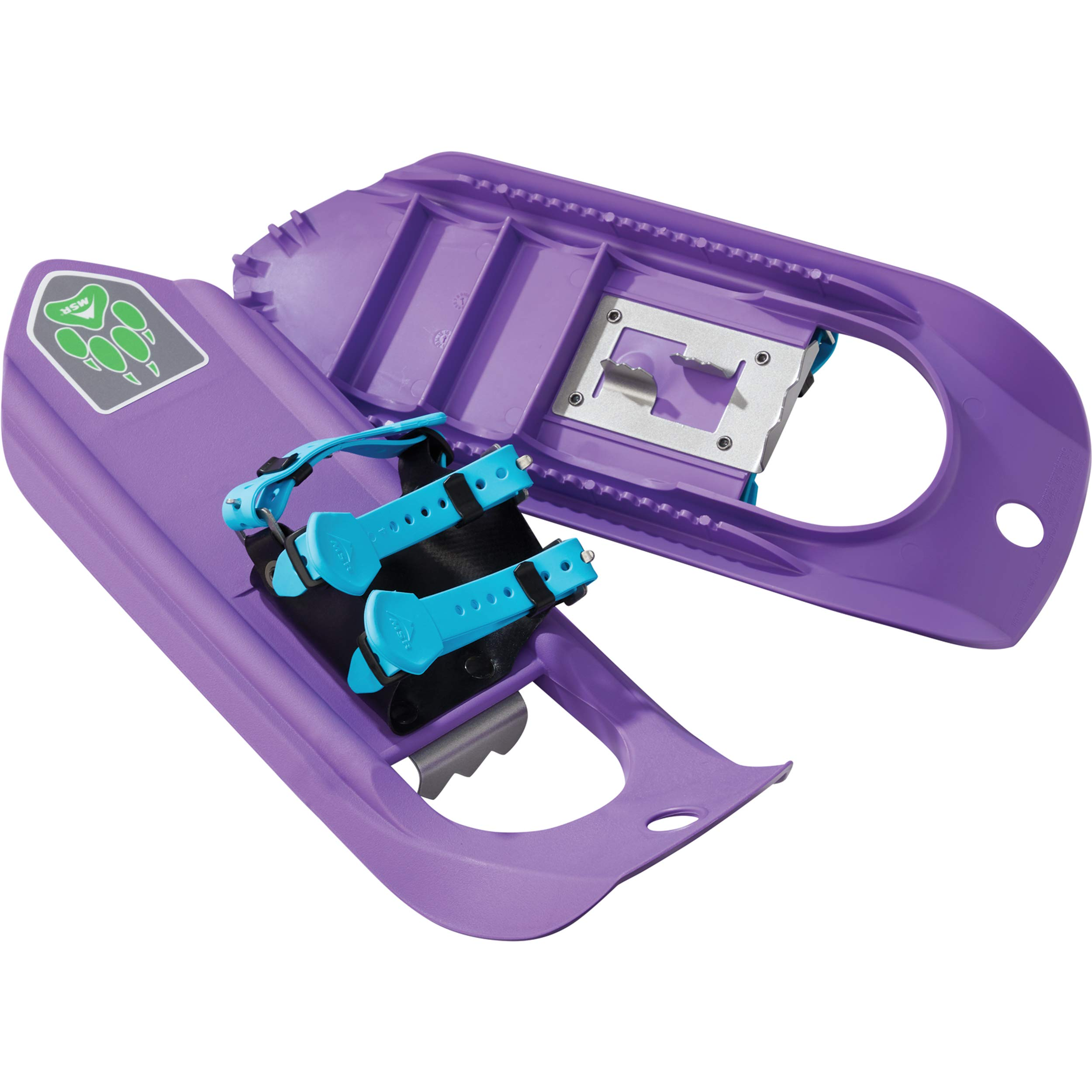 MSR Tyker Kids' Snowshoes for Children (Pair), Purple Power by MSR