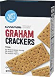 Amazon Brand - Happy Belly Cinnamon Graham Crackers, 14.4 Ounce