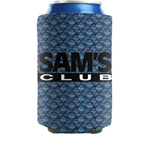 KyBrat Beer Can Cooler Sleeve Sam's-Club- Neoprene BBQ Can Sleeve Covers, Pack of 2 Plain
