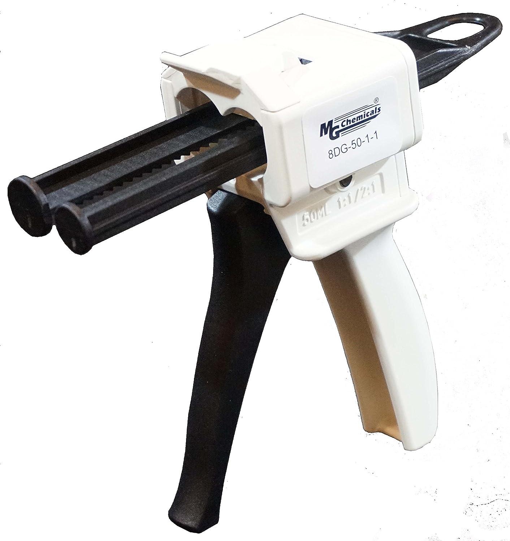 MG Chemicals, pistola dosatrice da 50 ml, cartuccia epossidica 1:1 pistola dosatrice da 50ml cartuccia epossidica 1:1 8DG-50-1-1