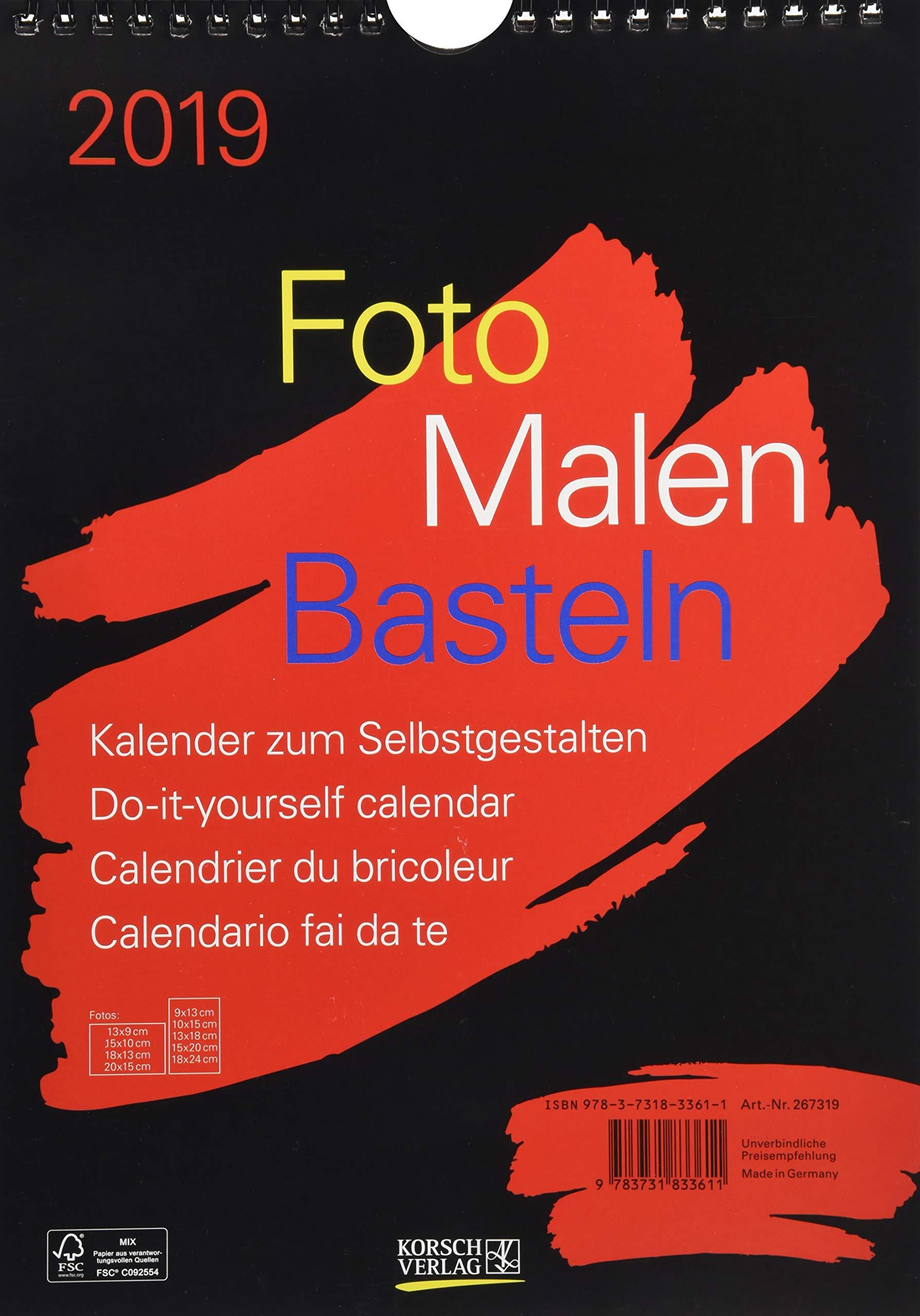 foto-malen-basteln-bastelkalender-a4-schwarz-2019-fotokalender-zum-selbstgestalten-do-it-yourself-kalender-mit-festem-fotokarton