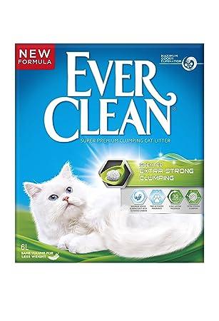 Ever Clean Arena para Gato grumo Extra Fuerte, 6 L.: Amazon.es: Productos para mascotas