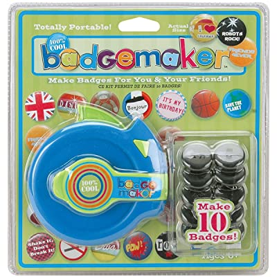 The Bead Shop 100% Cool Badgemaker Kit: Toys & Games [5Bkhe0301987]