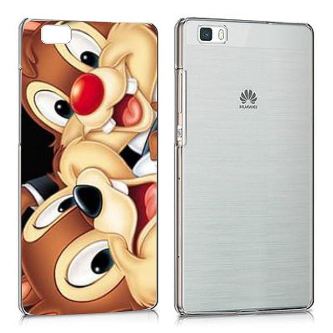 codice promozionale cd4f0 ae69a Social Crazy Cover per Smartphone Huawei p8 p8 Lite p9 p9 Lite p10 p10  Lite- CIP E CIOP con Protezione della Fotocamera Custodia Clear Trasparente  ...