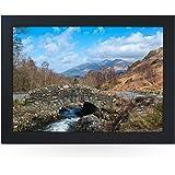 Lake District. High Quality Beanbag Laptray. L0013(Black)
