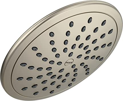 Moen 6345BN Collection 8 Inch Fixed Rainshower Showerhead, Brushed