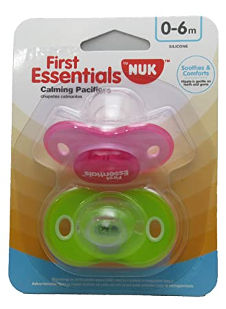 Amazon.com : Gerber First Essentials Calming Pacifier (Pink ...