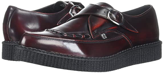 Unisex Adults Monk Oxford, Red T.U.K.