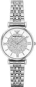 Emporio Armani Women's AR1925 Retro Silver Watch