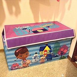 Amazon Com Disney Doc Mcstuffins Collapsible Storage