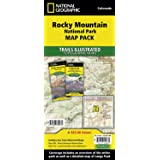 Rocky Mountain National Park Map Pack Bundle National Geographic Trails Ilrated Map