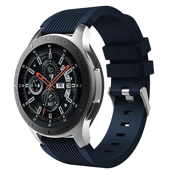 Amazon.com: Senter for Samsung Galaxy Watch 46mm Band,22mm ...