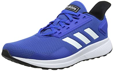 Adidas Duramo 9 Mens Running Shoes Cushioned Sports Trainers Blue Fitness, Running & Yoga Men