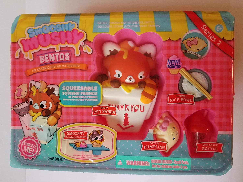 Smooshy Mushy BENTOS Box Collectible Figure Series 2 Redwoodventure Riley Red Panda