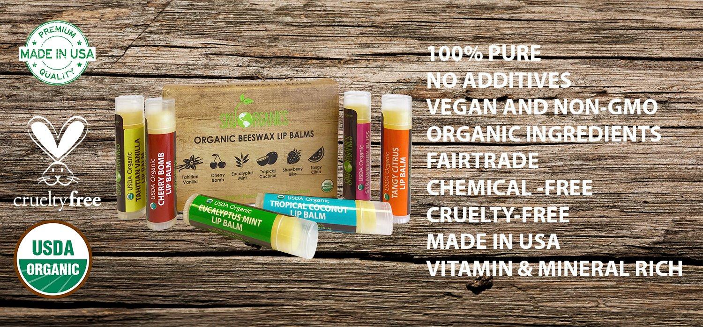 Organic Calendula Lip Balm oureczemastory.com