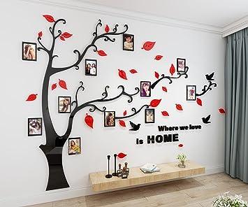 Alicemall Stickers Muraux Arbre Photo Sticker Mural 3D Stickers ...