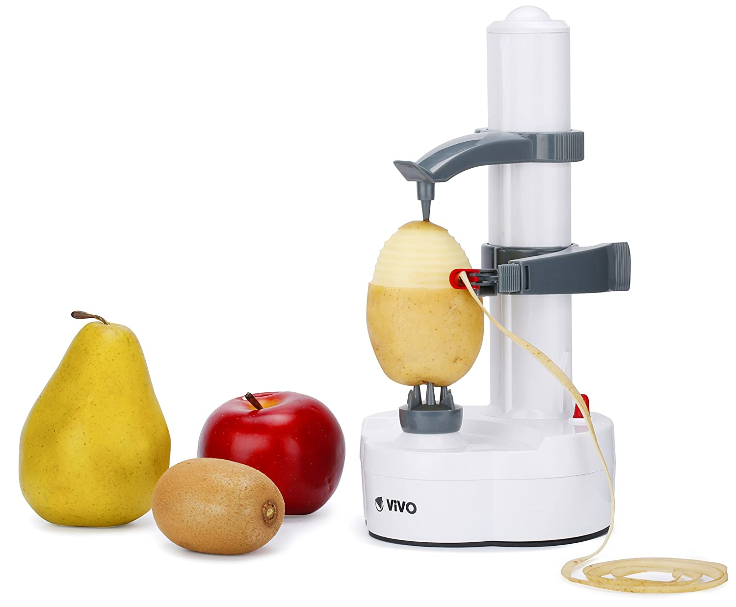 Vivo © Automatic Electric Fruit Veg Vegetable Apple Potato Peeler ...