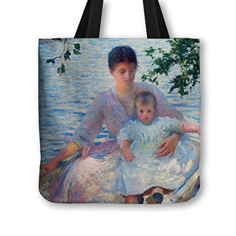Bolsa bolso de mano Edmund C, Tarbell de madre y cría de patrones de costura