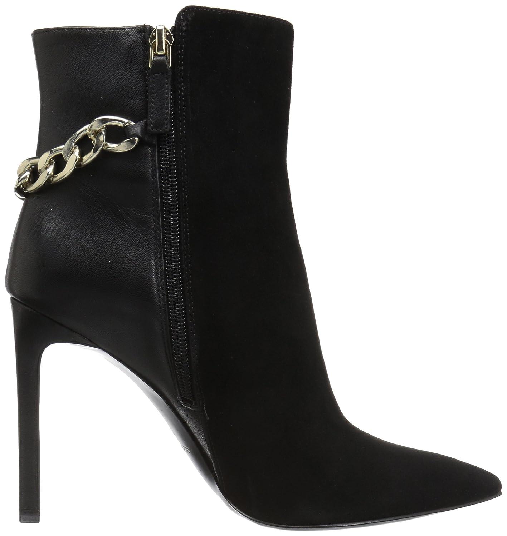 Nine West Women's Tyronah Suede Ankle Boot B01MRRFLED 10.5 B(M) US|Black