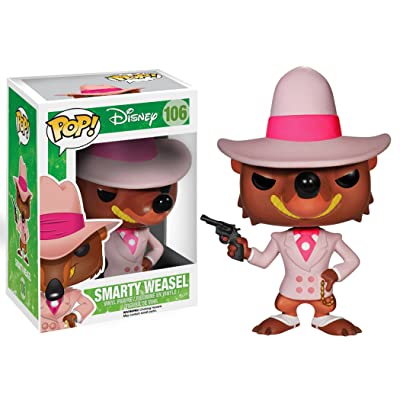 Funko POP! Disney: Roger Rabbit Smarty Weasel Action Figure: Funko Pop!: Toys & Games