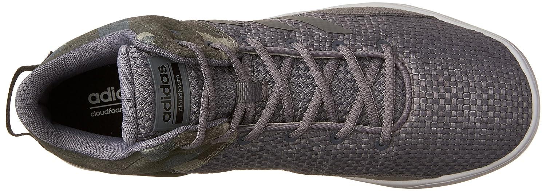 huge selection of 3aa71 be897 Amazon.com  adidas Mens Cloudfoam Revival Mid Basketball Shoes, Tech Grey Black, (7 M US)  Basketball