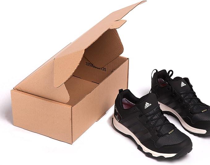 25x) Caja de cartón para Zapatos o como automontable envíos postales TCPOBOX (C (32,5 x 20 x 12,5 cms) (LOTE DE 25 UNIDADES): Amazon.es: Oficina y papelería