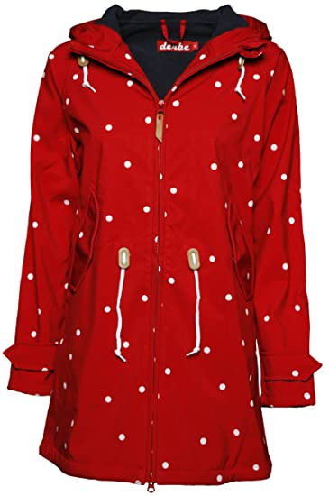 9a26091e1679bb derbe Damen Jacke Island Friese Dots Jacket  Amazon.de  Bekleidung