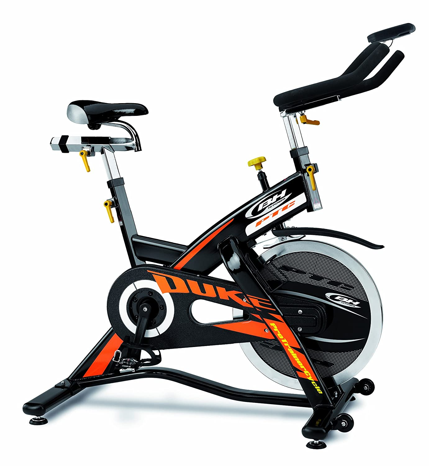 BH Hipower - Bicicleta Indoor Duke Electronic: Amazon.es: Deportes ...