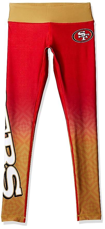 a4cff96cf879a Amazon.com   San Francisco 49ers Gradient Print Legging - Womens ...